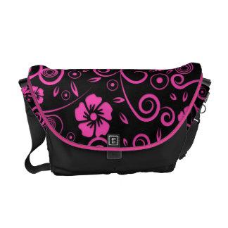 Spiced Pink Floral Commuter Bag