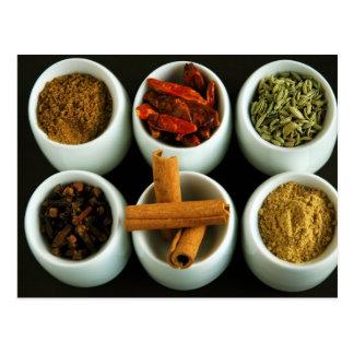 Spices 2 postcard