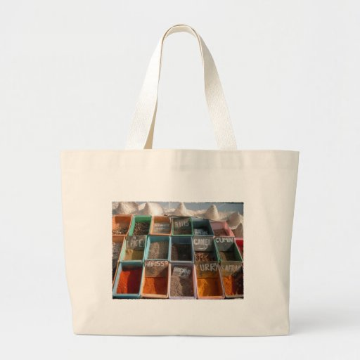 """""""spices """" canvas bags"""