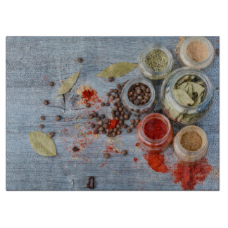 Spices Cutting Board