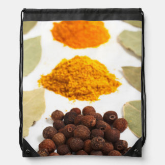 Spices Drawstring Backpacks