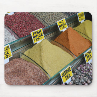 Spices for Sale in Istanbul Turkey Mouse Pad