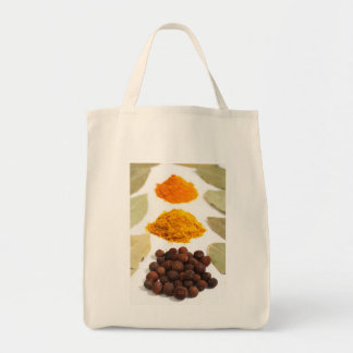 Spices Grocery Tote Bag