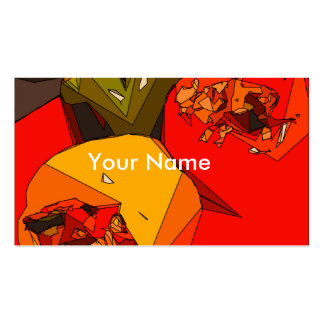 Spicy Bell Pepper Trio Business Card Template