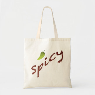 Spicy Budget Tote Bag