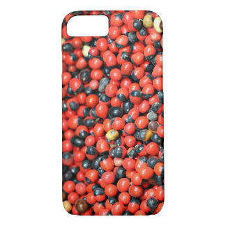 Spicy Floral Photo from Dubai [Red Pattern 3] iPhone 8/7 Case