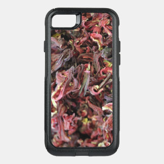Spicy Floral Photo from Dubai [Red Pattern 6] OtterBox Commuter iPhone 8/7 Case