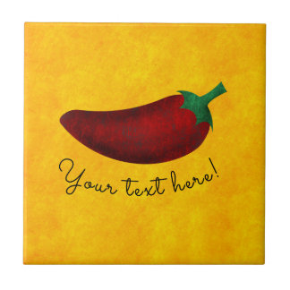 Spicy Hot Southwest Chili Pepper Tile