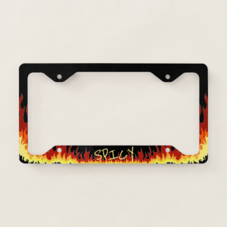 Spicy License Plate Frame