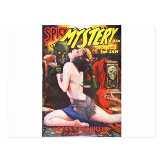 spicy mystery postcard