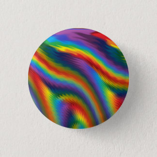 Spicy Rainbow 1 Inch Round Button