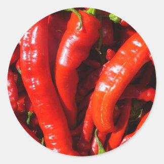 Spicy! Round Sticker