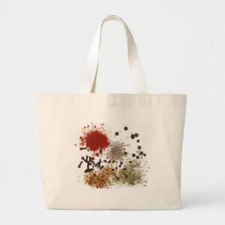 Spicy spices foodie top chef photo graphic bag