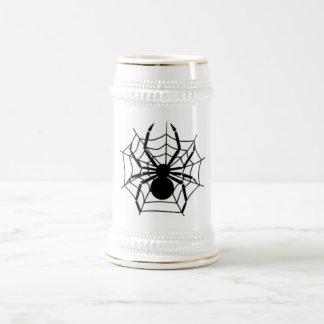 SPIDER 18 OZ BEER STEIN