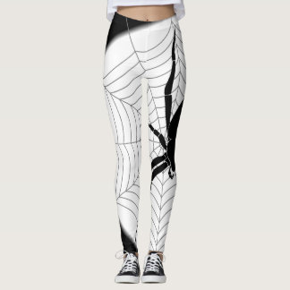 Spider and Web: Leggings