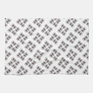 Spider Dance Print Kitchen Towel