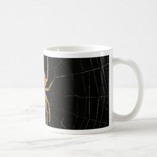 Spider design coffee mug