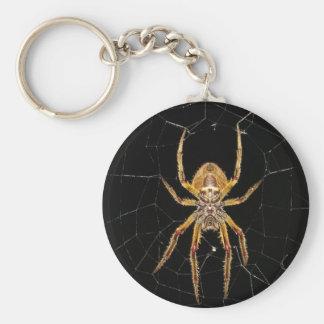 Spider design keychain