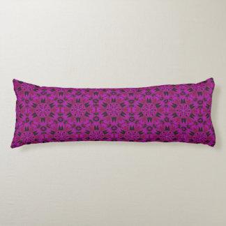 Spider Fangs Fuchsia Body Pillow