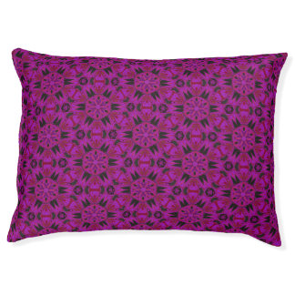 Spider Fangs Fuchsia Dog Bed Large Dog Bed