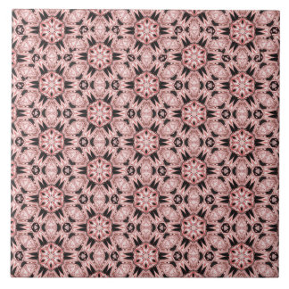 Spider Fangs Light Coral Ceramic Tile