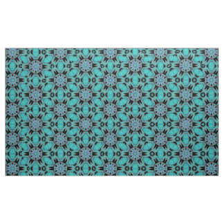 Spider Fangs Turquoise Fabric