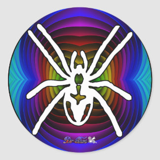 SPIDER GIFTS CUSTOMIZABLE PRODUCTS CLASSIC ROUND STICKER