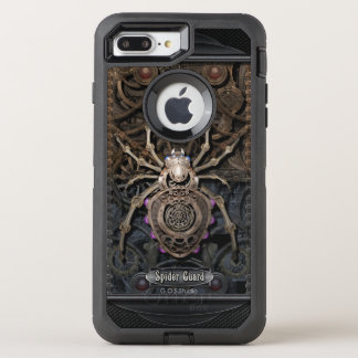 Spider Guard Steampunk. OtterBox Defender iPhone 7 Plus Case
