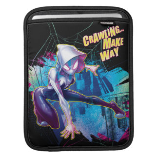 Spider-Gwen: Crawling… Make Way iPad Sleeve