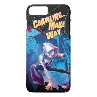 Spider-Gwen: Crawling… Make Way iPhone 8 Plus/7 Plus Case