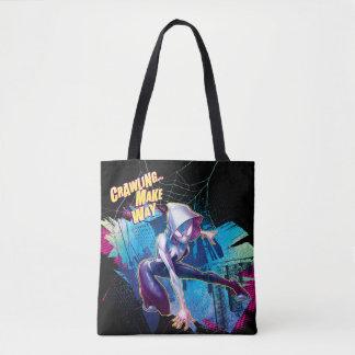 Spider-Gwen: Crawling… Make Way Tote Bag