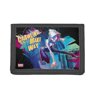 Spider-Gwen: Crawling… Make Way Tri-fold Wallet