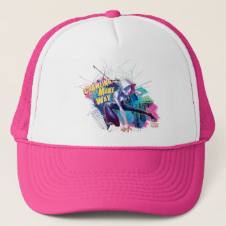 Spider-Gwen: Crawling… Make Way Trucker Hat