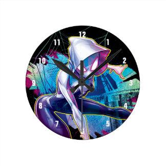 Spider-Gwen: Crawling… Make Way Wall Clock