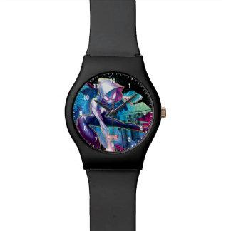 Spider-Gwen: Crawling… Make Way Wrist Watches