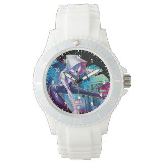 Spider-Gwen: Crawling… Make Way Wristwatch