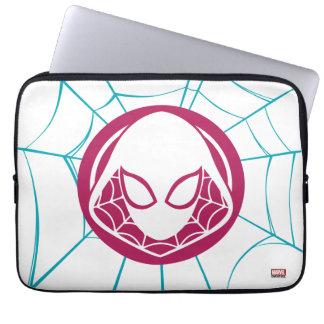 Spider-Gwen Icon Laptop Sleeve