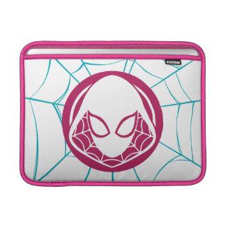 Spider-Gwen Icon Sleeve For MacBook Air