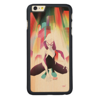 Spider-Gwen Neon City Carved Maple iPhone 6 Plus Case