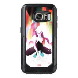 Spider-Gwen Neon City OtterBox Samsung Galaxy S7 Case