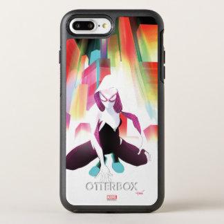 Spider-Gwen Neon City OtterBox Symmetry iPhone 8 Plus/7 Plus Case