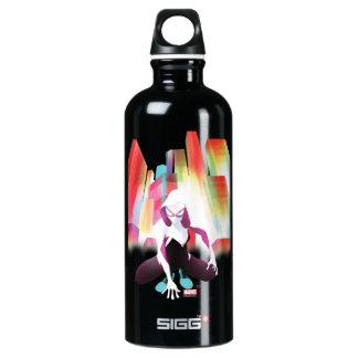 Spider-Gwen Neon City Water Bottle