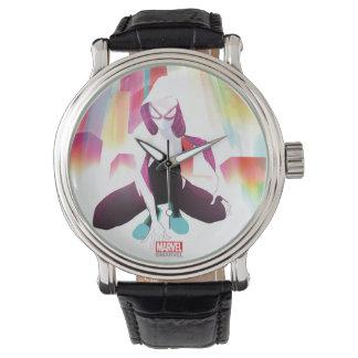 Spider-Gwen Neon City Wristwatch