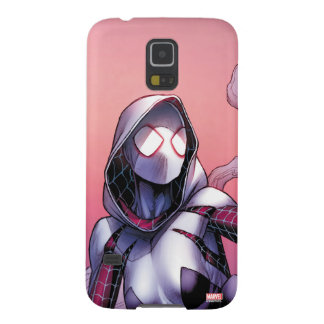 Spider-Gwen On Rooftop Galaxy S5 Cover