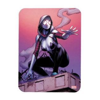 Spider-Gwen On Rooftop Magnet