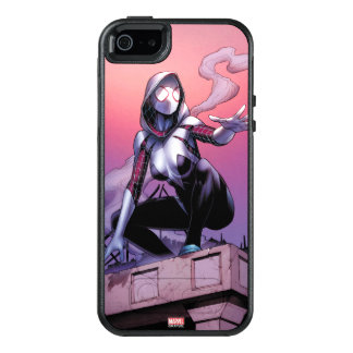 Spider-Gwen On Rooftop OtterBox iPhone 5/5s/SE Case