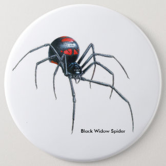 Spider image for Colossal-Round-Badge 6 Inch Round Button