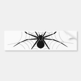 Spider in a Web Bumper Sticker