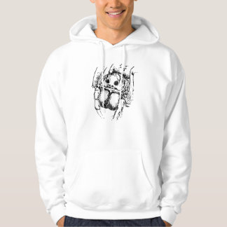 Spider Insect Illustration Hooded Sweatshirts