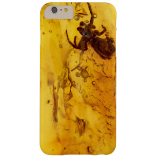 Spider inside baltic amber stone barely there iPhone 6 plus case